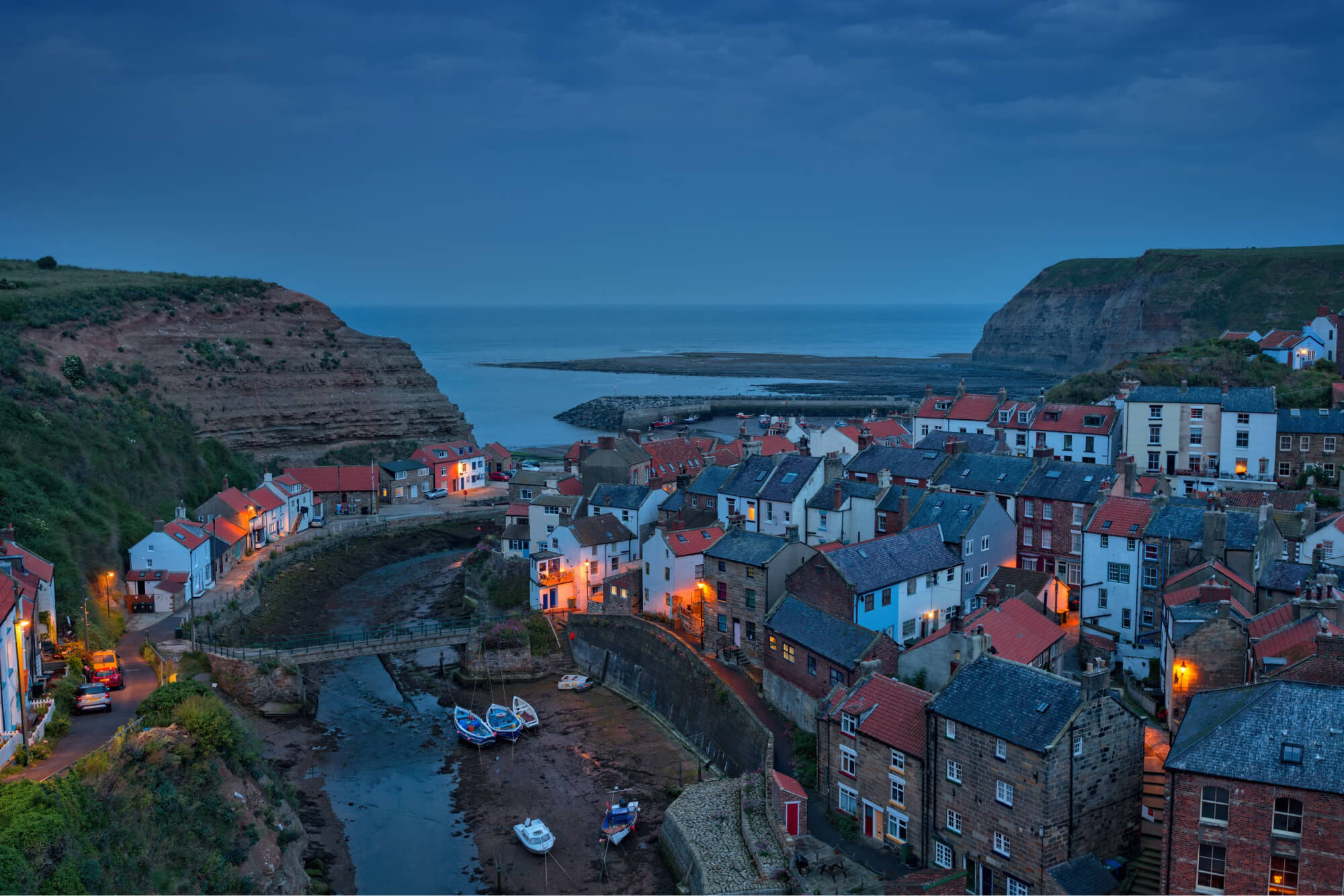 Staithes, North-East England